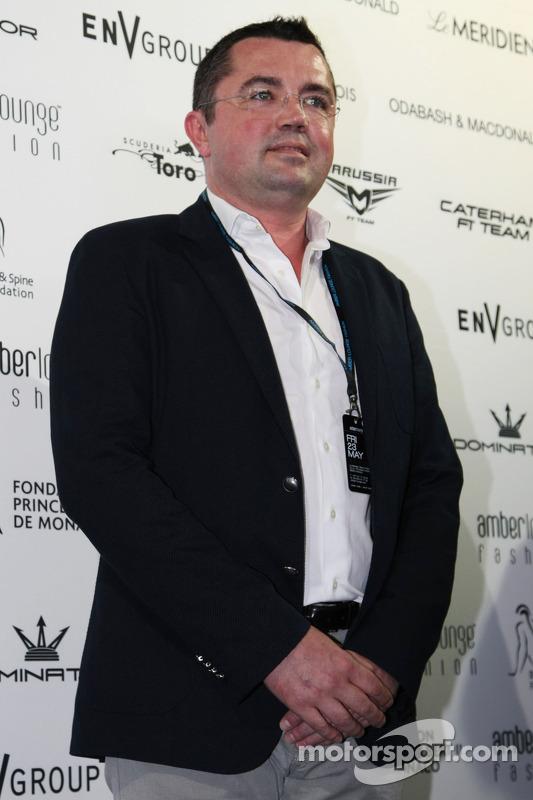Eric Boullier, McLaren no Amber Lounge Fashion Show