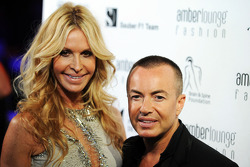 Julien Macdonald, Fashion Designer at the Amber Lounge Fashion Show
