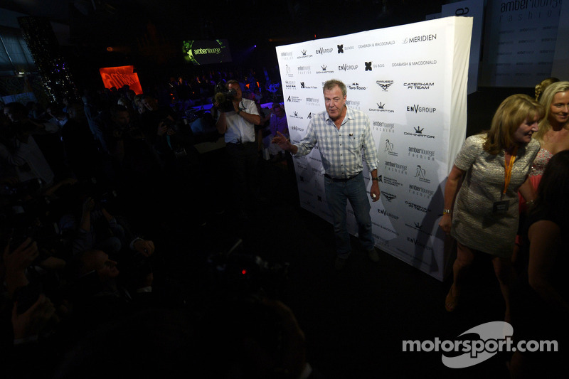 Jeremy Clarkson, Presentatore Top Gear TV all'Amber Lounge Fashion Show