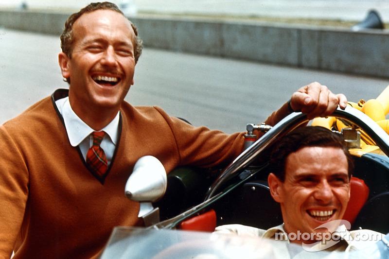 500 Miles d'Indianapolis 1965 : Colin Chapman et Jim Clark