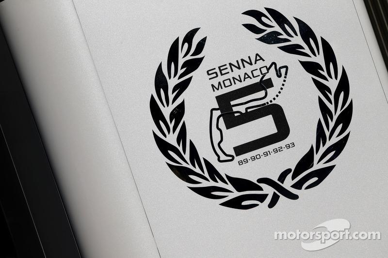 Senna tributo McLaren Mercedes