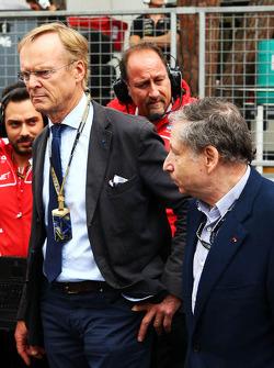 Ari Vatanen, ehemaliger Rallye-Weltmeister; Jean Todt, FIA-Präsident