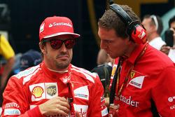 Startaufstellung: Fernando Alonso, Ferrari