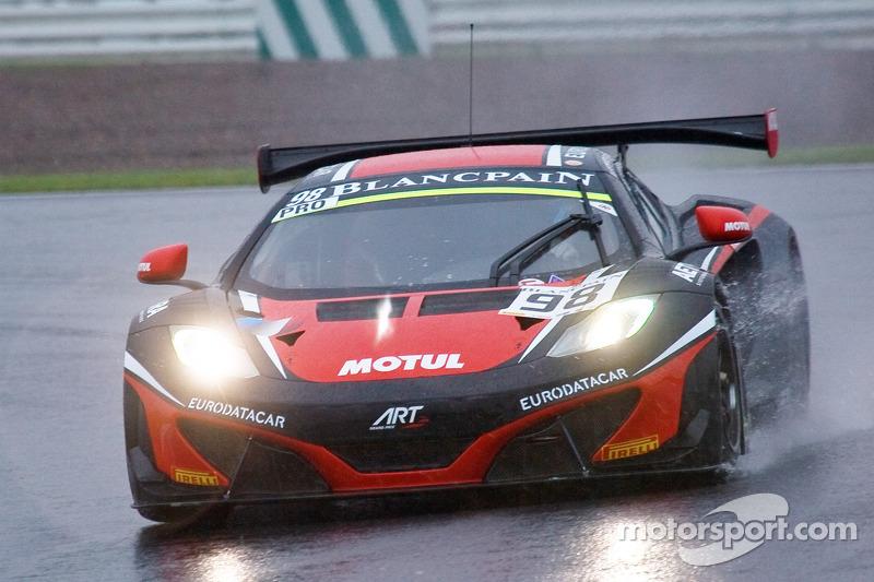 #98 ART Grand Prix McLaren MP4-12C: Gregoire Demoustier, Alexandre Prémat, Alvaro Parente