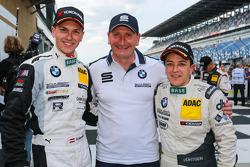 Vencedores da corrida Dominik Baumann, Claudia Hurtgen com Thorsten Schubert