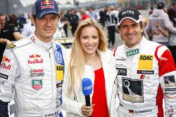 Sébastien Ogier, Andrea Kaiser, Markus Winkelhock