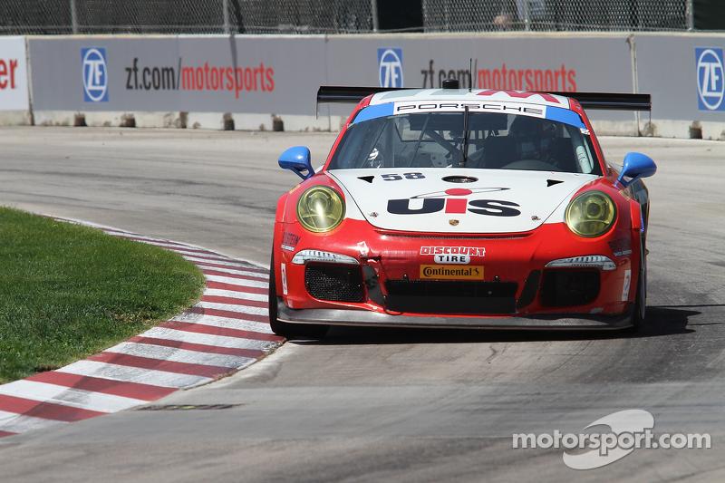 #58 Snow Racing 保时捷 911 GT America: 麦迪逊·斯诺 & 扬·埃朗