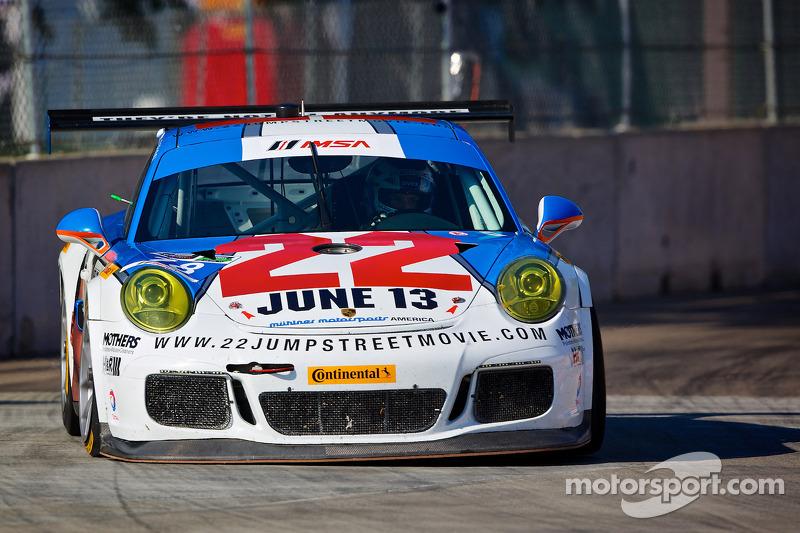 #18 Muehlner Motorsports America Porsche 911 GT America: David Calvert-Jones, Matt Bell