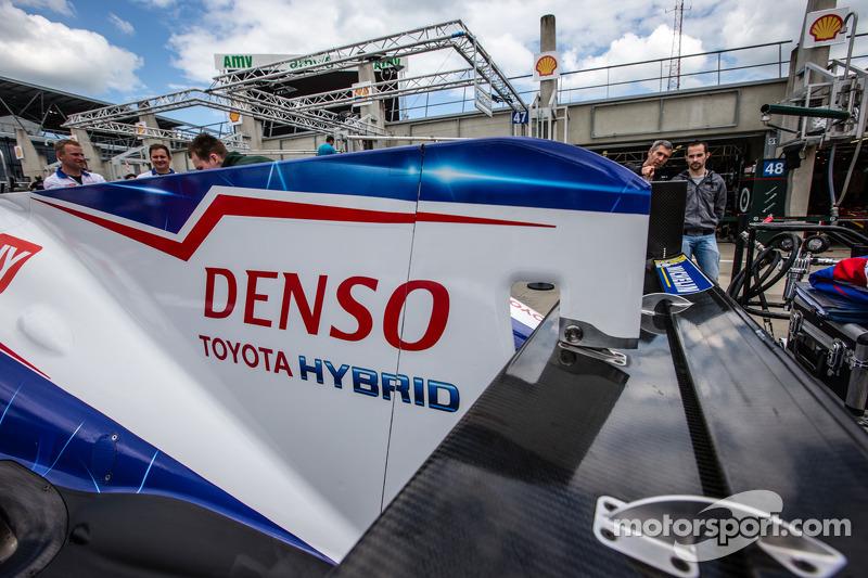 #7 丰田车队 丰田 TS 040 - Hybrid 细节