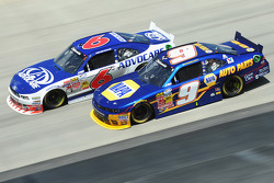 Trevor Bayne and Chase Elliott
