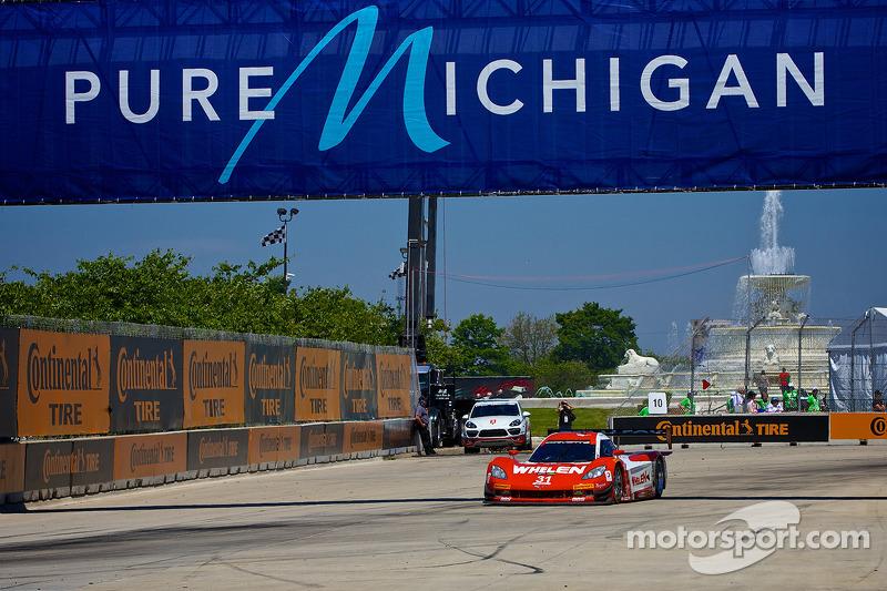 #31 Marsh Racing 雪佛兰克尔维特 DP: 埃里克·库兰 & 鲍里斯·赛义德