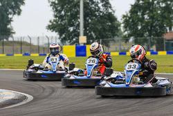 Media/drivers karting race: Alex Brundle