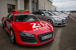 Audi R8 safety car for the 2014 24 Hours of Le Mans