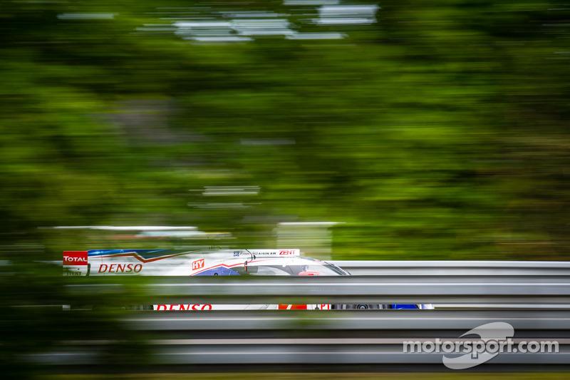 #7 丰田车队 丰田 TS 040 - Hybrid: 亚历山大·伍尔兹, 斯蒂芬·萨拉赞, 中岛一贵