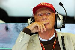 Niki Lauda, Mercedes F1, Aufsichtsratsvorsitzender