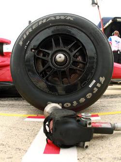 凡士通轮胎细节