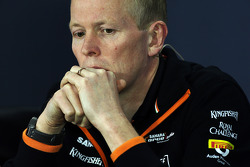 Andrew Green, Sahara Force India F1 Takımı Teknik Şefi FIA Basın Konferansı'nda