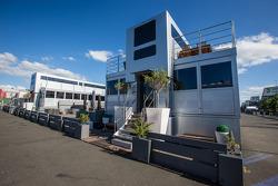 Aston Martin Racing hospitality