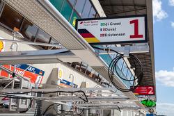 Audi pit stalls