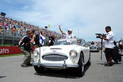 Valtteri Bottas, Williams pilot geçiş töreninde