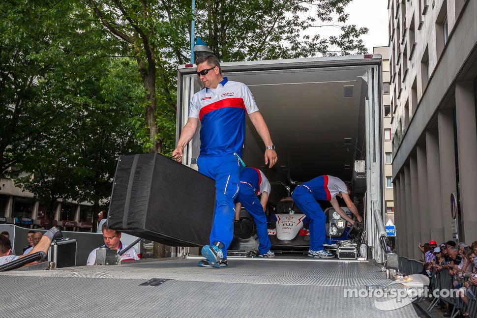 Toyota preparing to unload