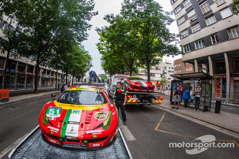 #51 AF Corse 法拉利 458 Italia