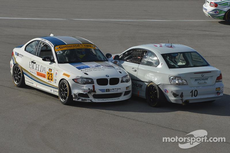 #10 Mitchum Motorsports BMW 128i: Dylan Murcott, Dillon Machavern e #23 Burton Racing BMW 128i: Terr