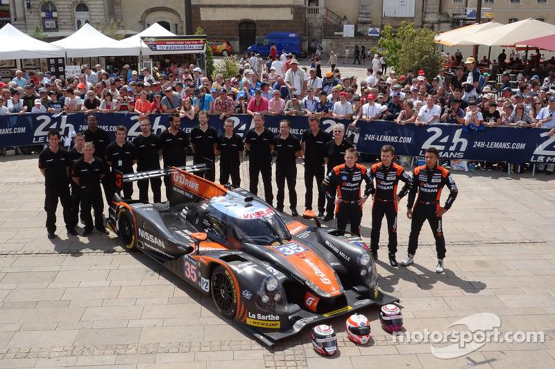 #35 OAK Racing Ligier - 日产: 阿历克斯·布伦德尔, 詹恩·马登堡, 马克·舒尔茨斯基