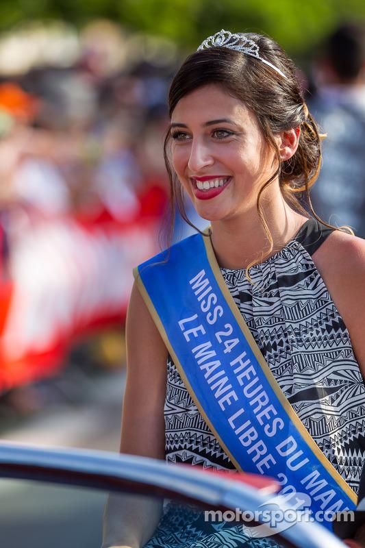 Senhorita Le Mans 2014