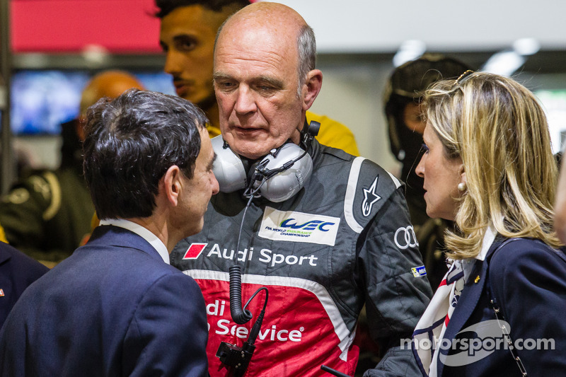 Dr. Wolfgang Ullrich ve Pierre Fillon