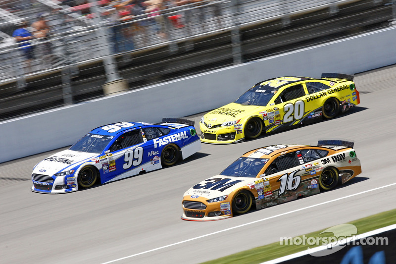 Carl Edwards, Matt Kenseth ve Greg Biffle