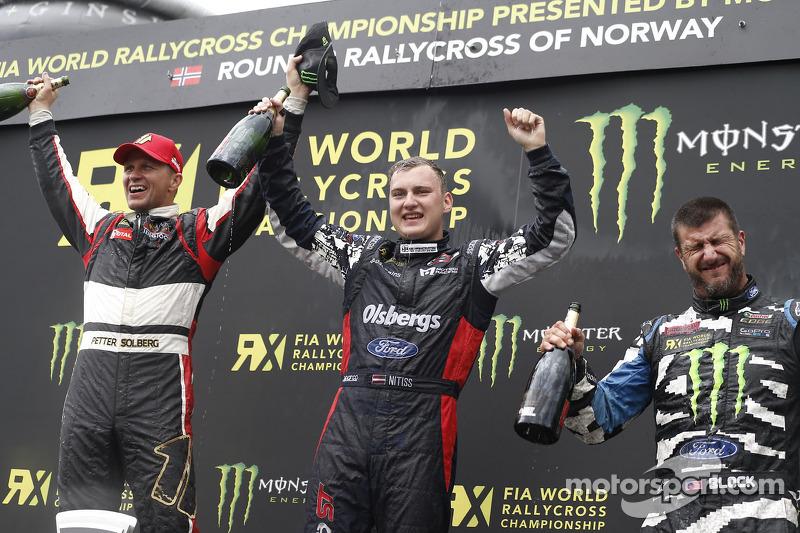 Vincitore Reinis Nitiss, secondo posto Petter Solberg, terzo posto Ken Block