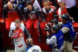 Audi Sport Team Joest celebrate win