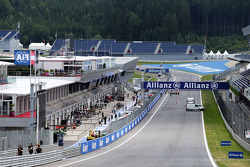 Start/Ziel-Gerade am Red-Bull-Ring in Spielberg