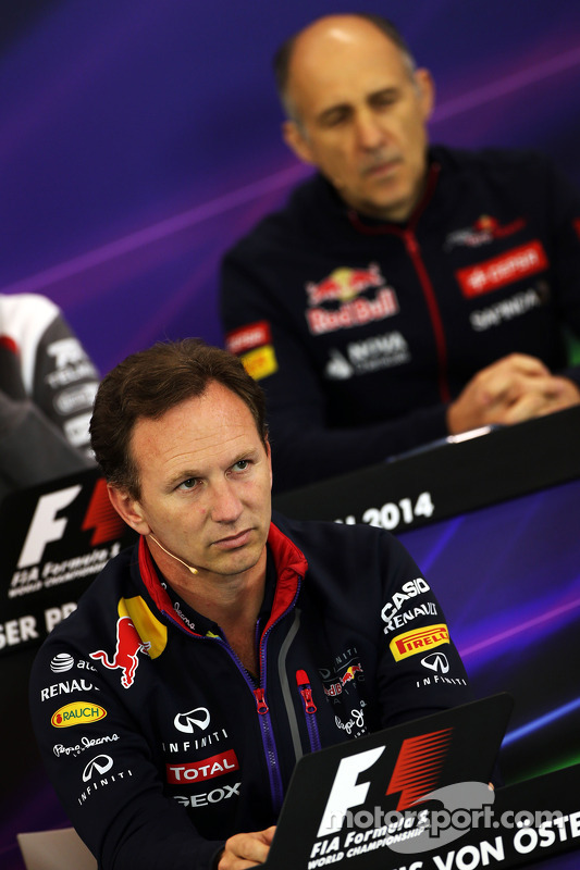 Christian Horner, Red Bull Racing, Teamchef; Franz Tost, Scuderia Toro Rosso, Teamchef