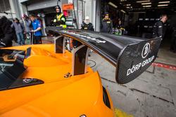 #69 Dörr Motorsport McLaren MP4-12C rear wing