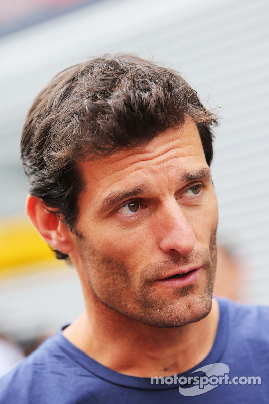 Mark Webber, da equipe Porsche no WEC