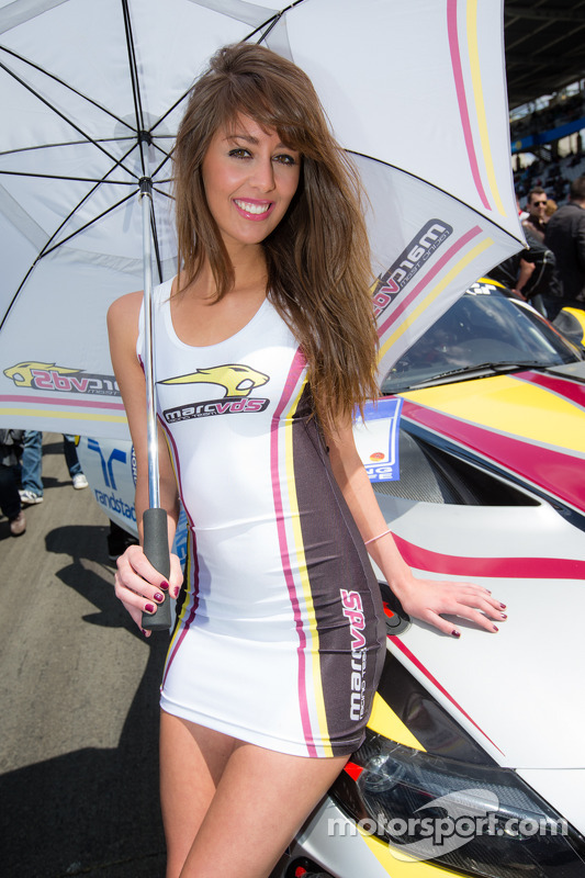 A Marc VDS Racing girl
