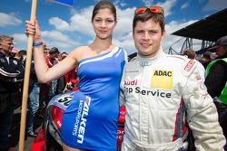 Pierre Kaffer with a Falken girl