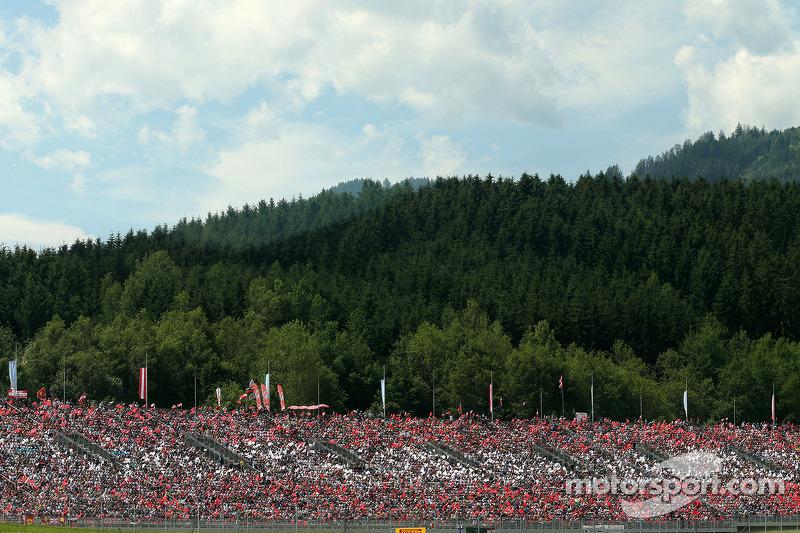 Atmosphäre während des Rennens