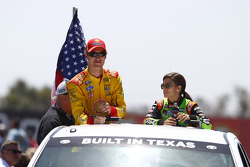 Joey Logano and Danica Patrick