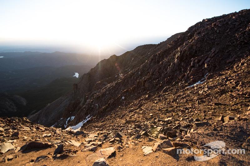 La vista da Pikes Peak