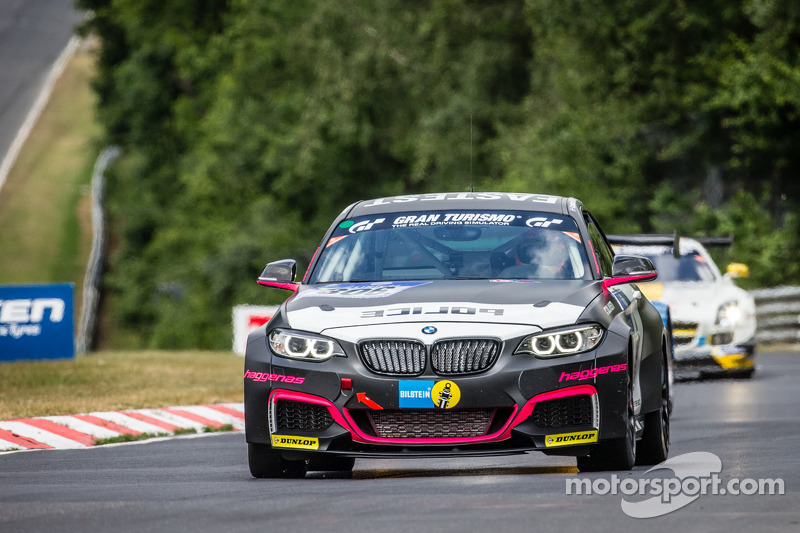 #306 Team Ring Police BMW M235i Racing: Jean-Pierre Kremer, Jan-Erik Slooten