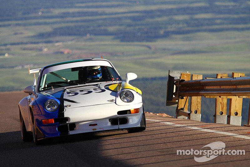 555 Porsche 993 Cup JeanJacques Bally at Pikes Peak