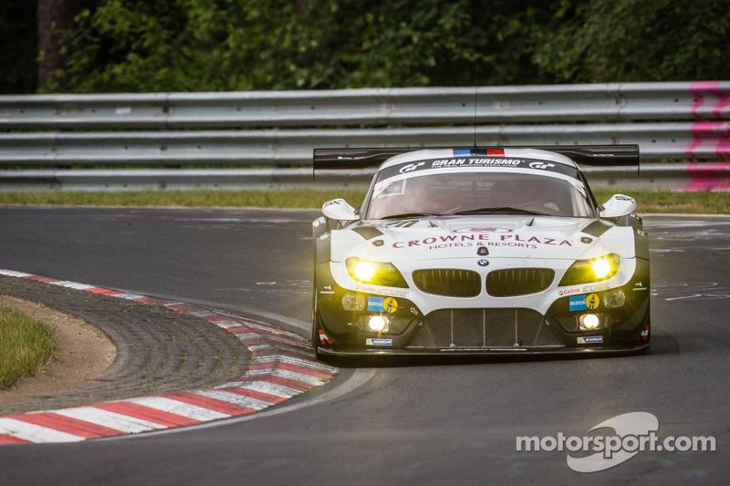 #20 Schubert Motorsport BMW Z4 GT3: Jens Klingmann, Dominik Baumann, Claudia Hürtgen, Martin Tomczyk