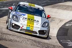 #160 Black Falcon Porsche Cayman S: Markus Enzinger, Christian Reiter, Jean-Louis Hertenstein, Panagiotis Spilipoulos