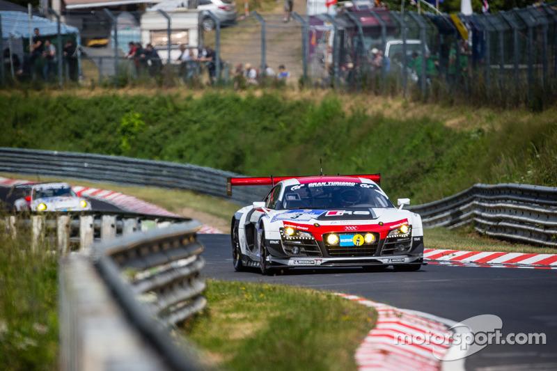 #3 Phoenix Racing Audi R8 LMS ultra: Marc Basseng, Marcel Fässler, Frank Stippler, Laurens Vanthoor