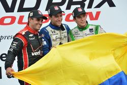 1. Carlos Huertas, Dale Coyne Racing, Honda