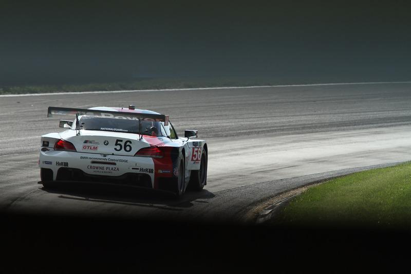 #56 宝马 Team RLL 宝马 Z4 GTE: 迪克·穆勒, 乔伊·汉德