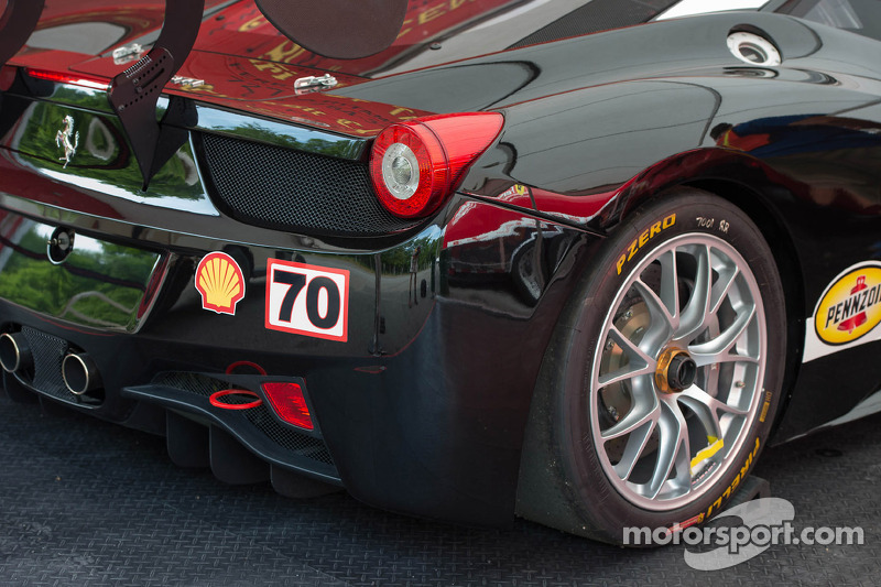 Ferrari 458 detayı